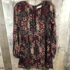 Abercrombie Floral Shift Dress XS